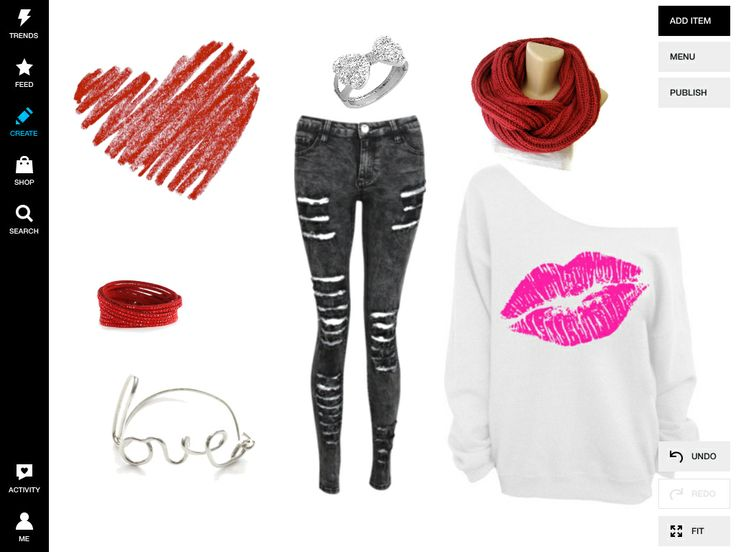 valentines day outfit hair and makeup