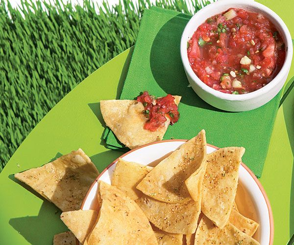 ... party: Grilled Watermelon Salsa with Spicy Lime with Tortilla chips