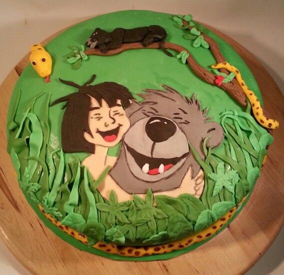Jungle Book Theme Cake Ideas and Designs