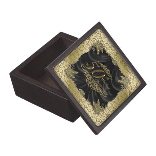 Wedding Anniversary Gift Box : 50th Wedding Anniversary Gift box Premium Keepsake Boxes