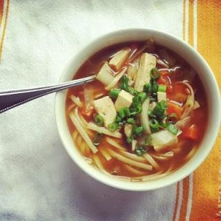 Vegan Hot and Sour Soup | NomNomNomNomNom | Pinterest