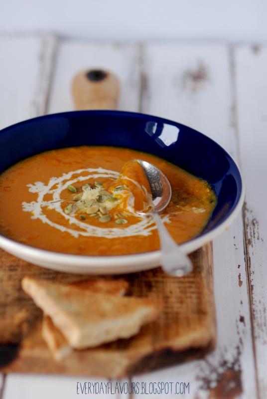 Pumpkin Soup with Gruyere | NOM NOM NOM | Pinterest