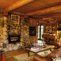 Beautiful Rustic Living Room Design Ideas at Ideal Home & Garden
