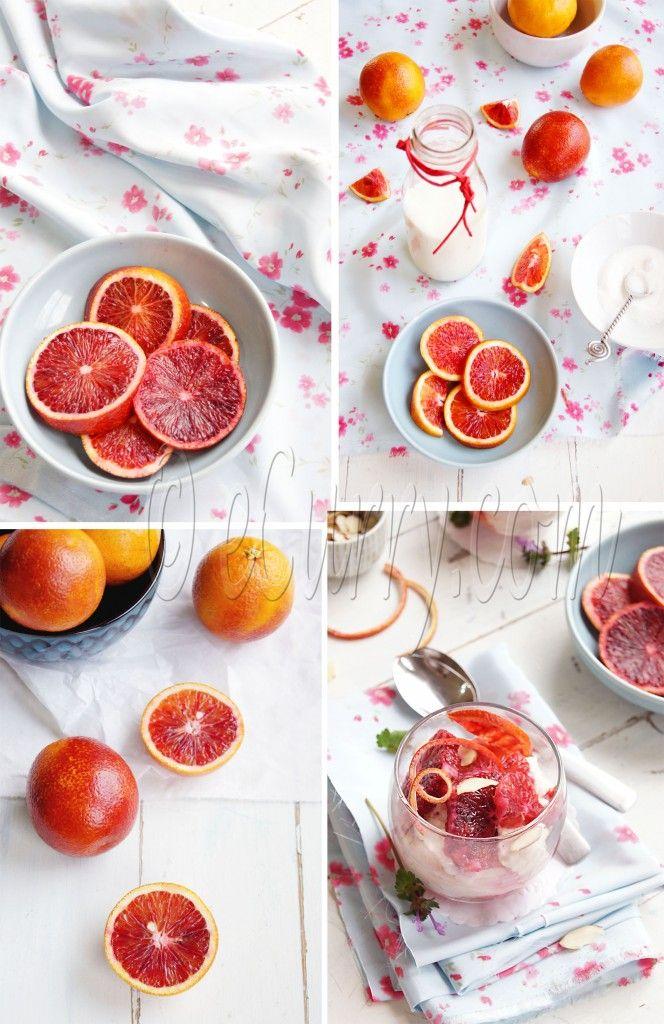 Blood orange ginger mousse | Freshness | Pinterest