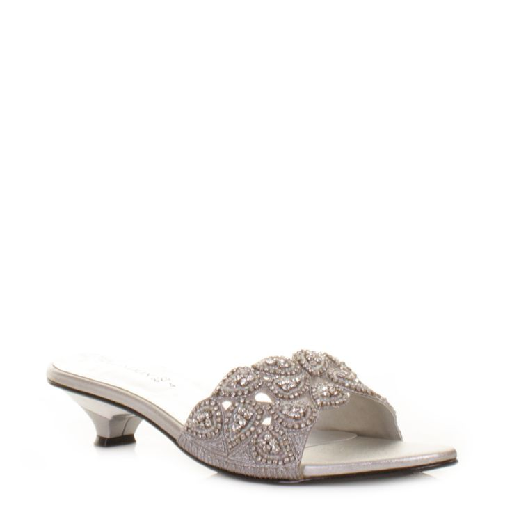 small heel shoes wedding and prom shoes