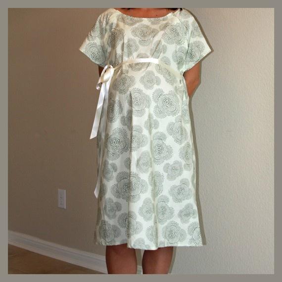 free maternity hospital gown pattern | Dress Wallpaper