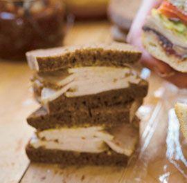 Pork Loin Sandwich with Mustard & Apple Butter   Recipe