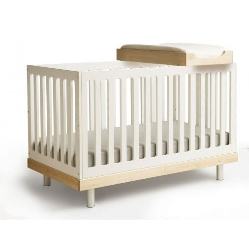 Pin by design public on hot nursery trends 2014 pinterest for Best baby cribs for small spaces