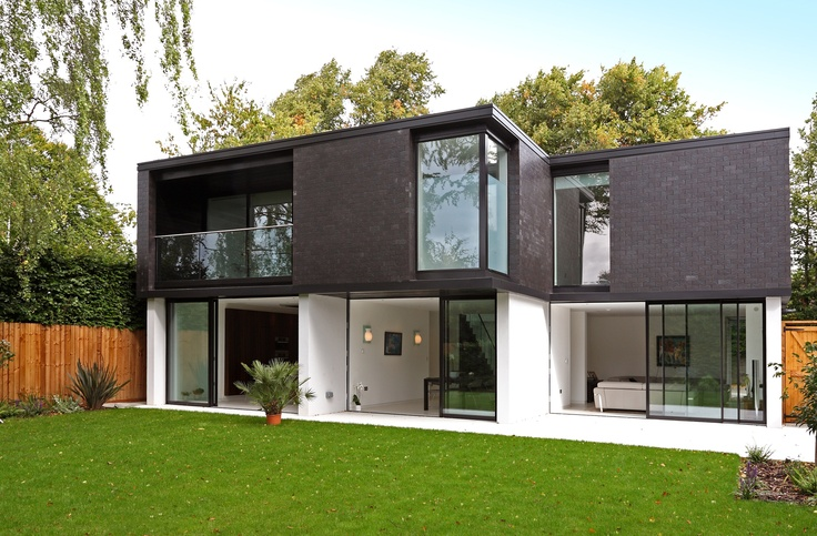 Modern brick house Architecture Residential
