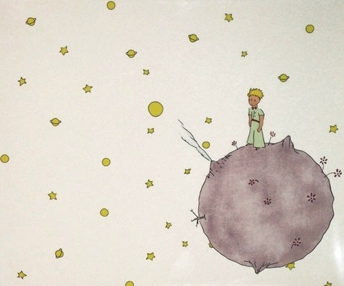 The Little Prince on Asteroide B612