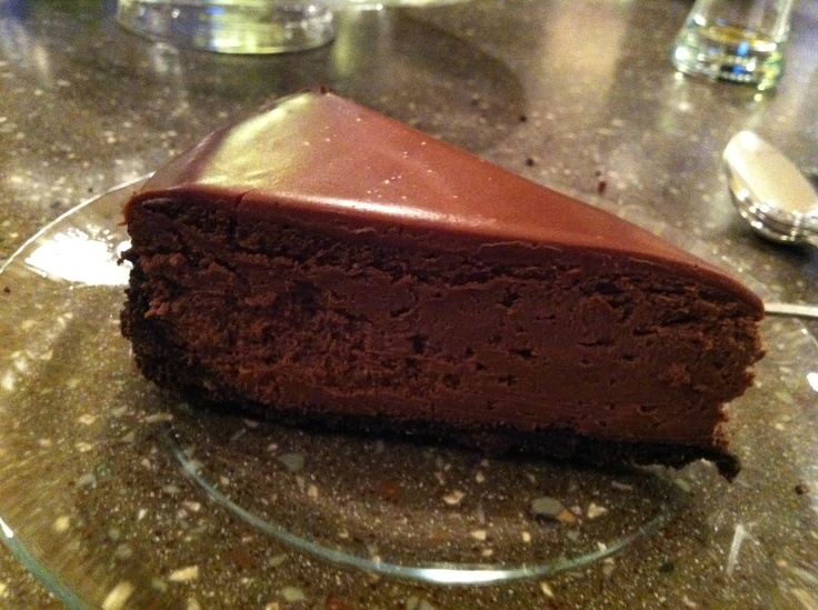 Deep Dark Chocolate Cheesecake = BEST cheesecake I've ever made!! From ...