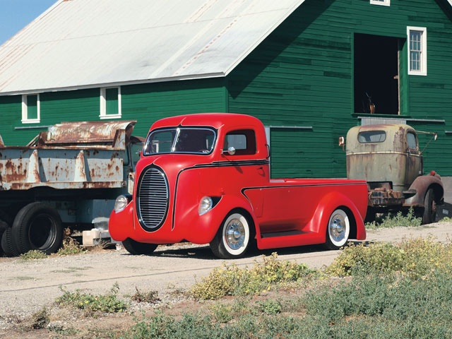 1946 Ford cabover truck
