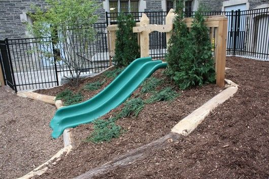 Backyard Hill Slide : Hill Slide  Gardens  Im kinda obsessed with this idea Can you