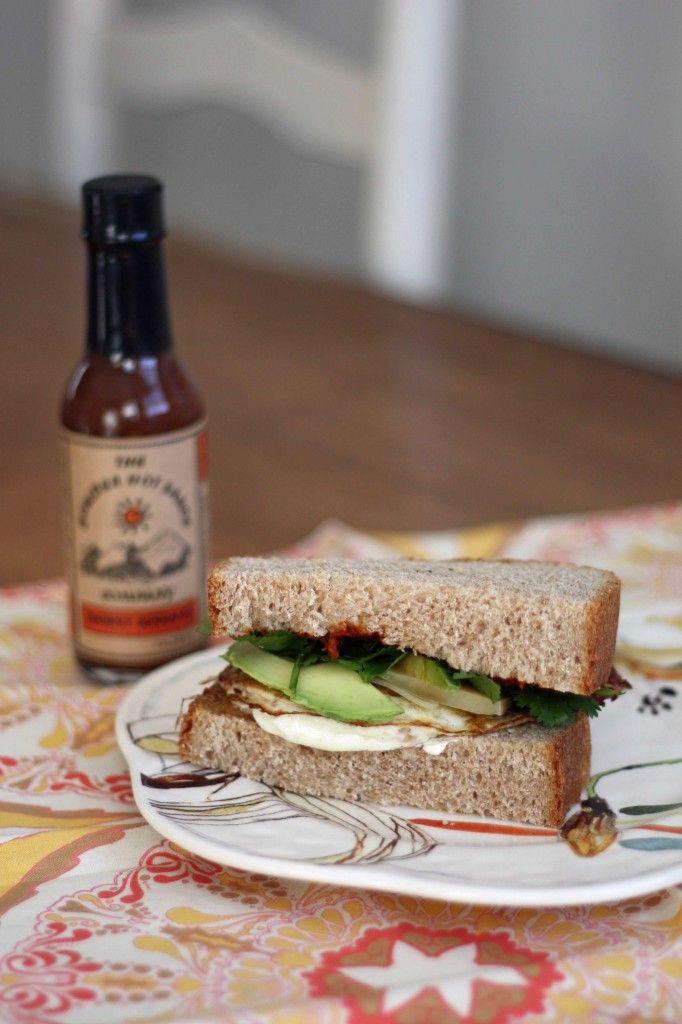 Fresh Recipes | Egg, Sun Dried Tomato, & Gruyere Breakfast Sandwich