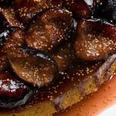 spiced honey cake with caramelized figs recipes dishmaps spiced honey ...