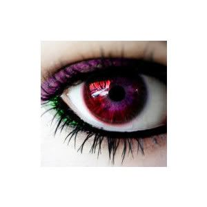 Dark Red Colored ContactsDark Red Eye Contacts