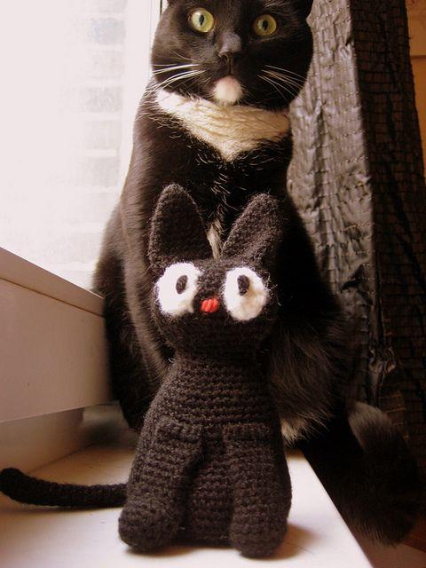 Amigurumi Pattern Free Rabbit : Jiji the Cat CROCHET, KNITTING, MACRAM? AND EMBROIDERY ...