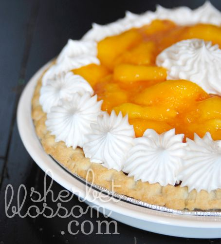 Fresh Peach Pie 🍑🍑🍑🍑🍑🍑🍑🍑🍑 (add a dash of ...