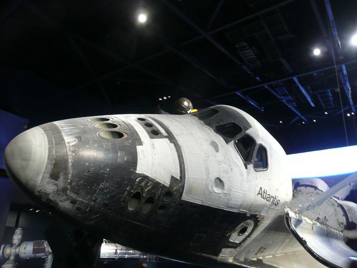 Kennedy Space Center Atlantis Exhibit