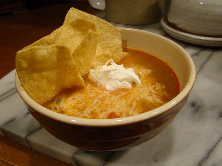 Chicken Enchilada soup~ | Tuliglowski meals~ | Pinterest