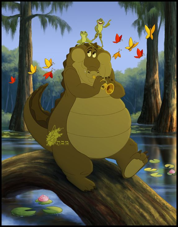 Princess and the frog louis - photo#4