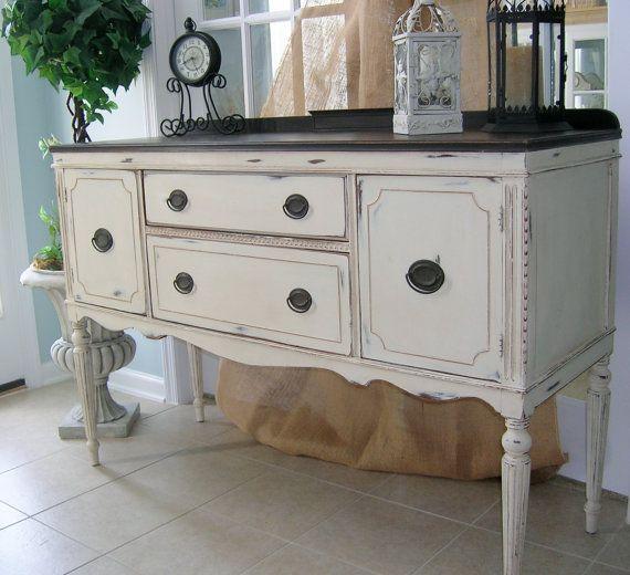 sold vintage buffet server. Black Bedroom Furniture Sets. Home Design Ideas