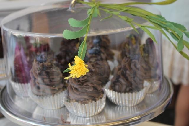 Raw cupcakes.