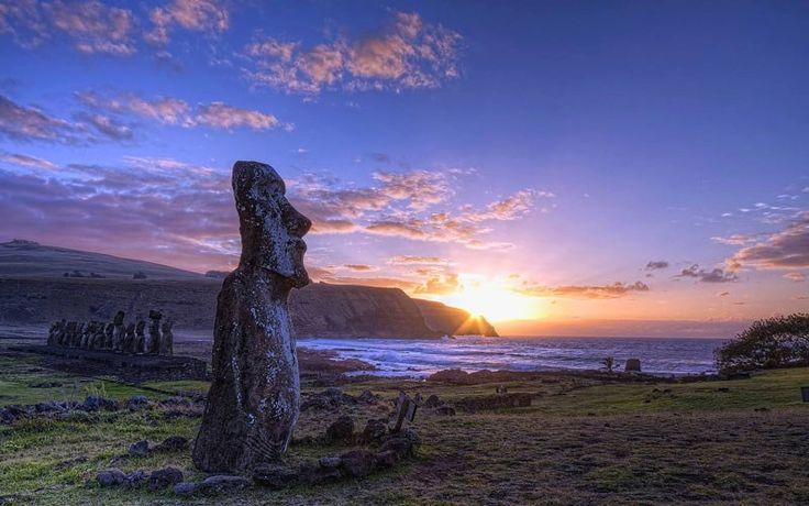 Đảo phục sinh là một trong những hòn đảo cô lập nhất thế giới