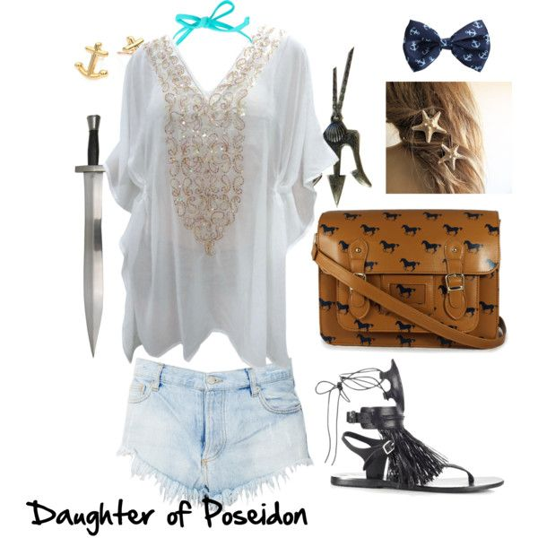 """Daughter of Poseidon"" by fangirl1 on Polyvore"