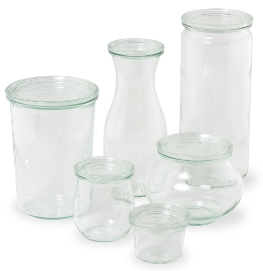 Weck Jars - Great for Canning
