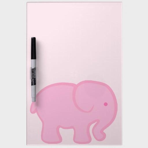 Cute pink elephant - photo#26