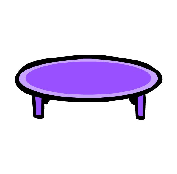 Purple coffee table curly purple coffee and end tables set for Purple coffee table