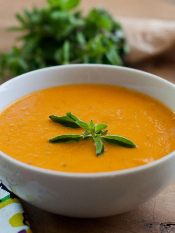 Heirloom Tomato Soup - use fresh summer tomatoes in this creamy soup ...