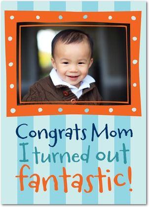 I'm Fantastic! - Mother's Day Greeting Cards - DwellStudio - Autumn Orange - Orange : Front