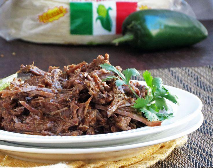 Crock Pot Shredded Beef (Barbacoa)