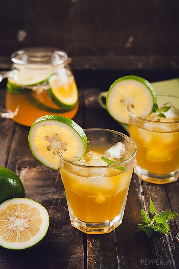 Mint Green Ice Tea with Lime | Beverages | Pinterest