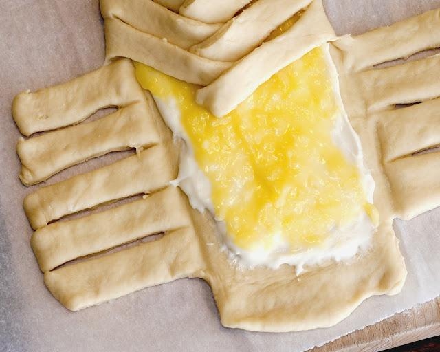 lemon cheese braided bread | scrump-dily-umptious | Pinterest