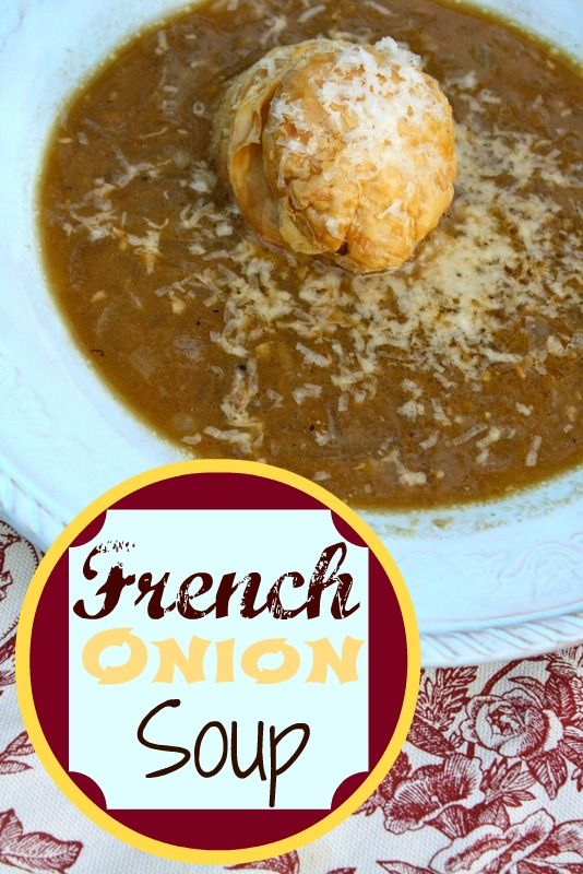 French Onion Soup | Dinner Ideas | Pinterest