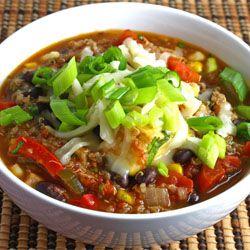 Black bean and quinoa chili | Food Stuff - Meals, Snacks, Desserts ...