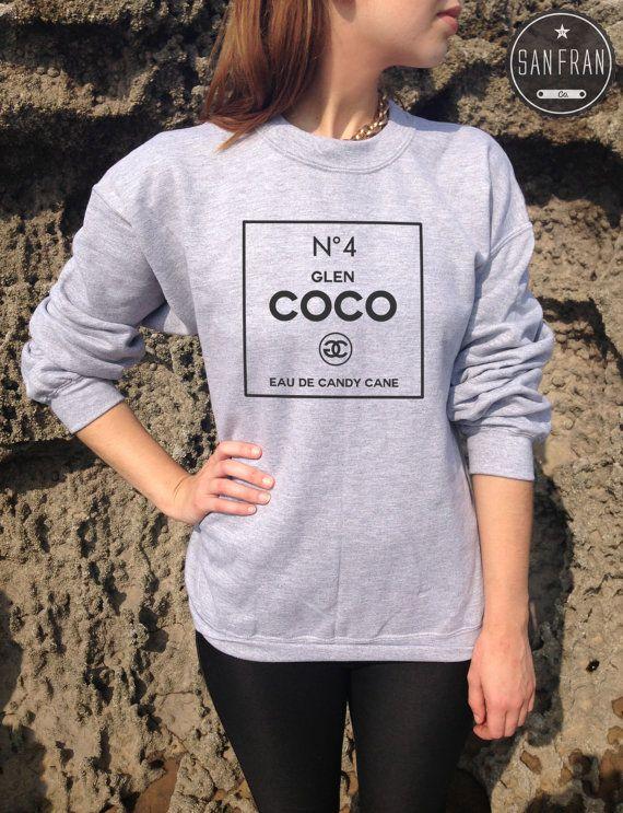 Glen coco no 4 jumper sweater top tumblr you go no4 mean girls t shir