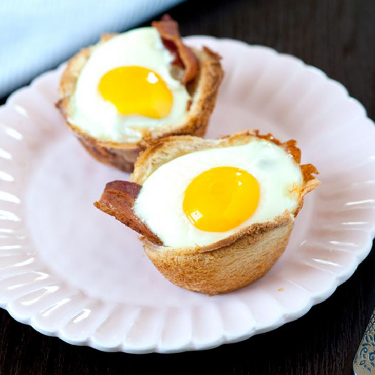 Bacon, Egg and Toast Cups II Recipe | Most important meal of the day ...