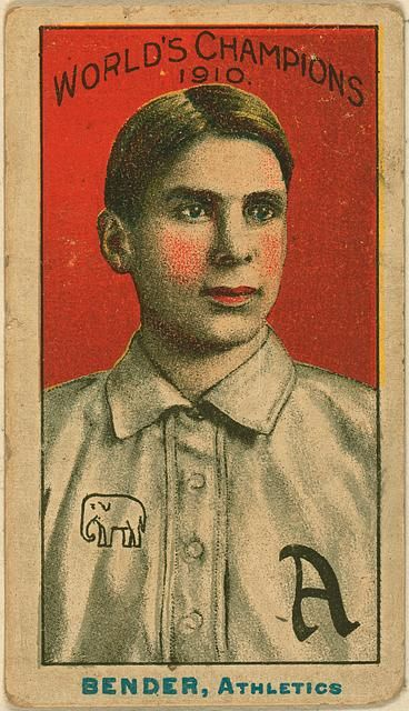 Chief Bender, Philadelphia Athletics, 1910