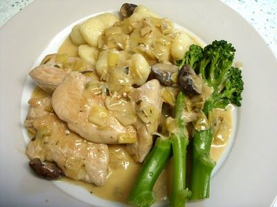 tarragon chicken with gnocchi. recipe from Jenny Eatwell's Rhubarb ...