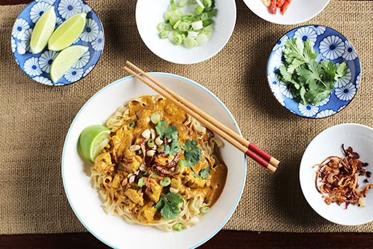 Recipe: Egg Noodles with Rich Chicken Curry Sauce (Khao Soi) Recipes ...