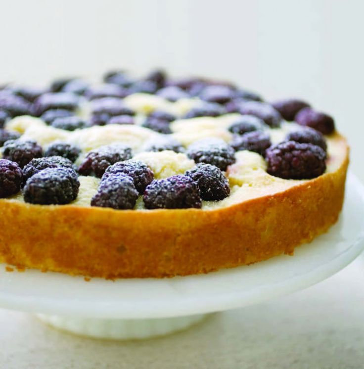 Blackberry Cornmeal Cake | FruitSweetFruit | Pinterest