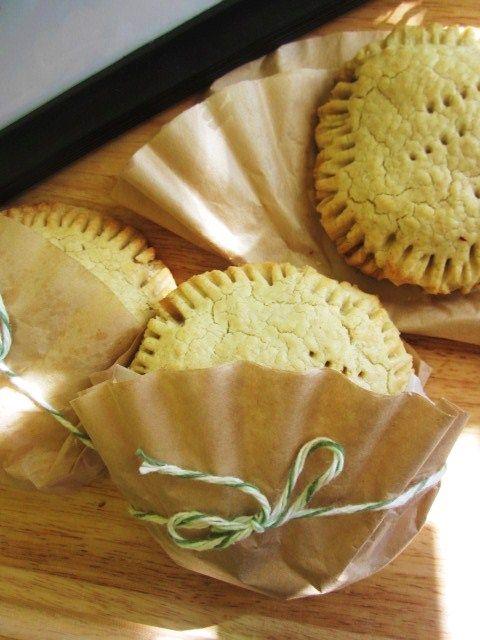 Irish Hand Held Apple Pie {Gluten Free, Sugar Free Vegan}