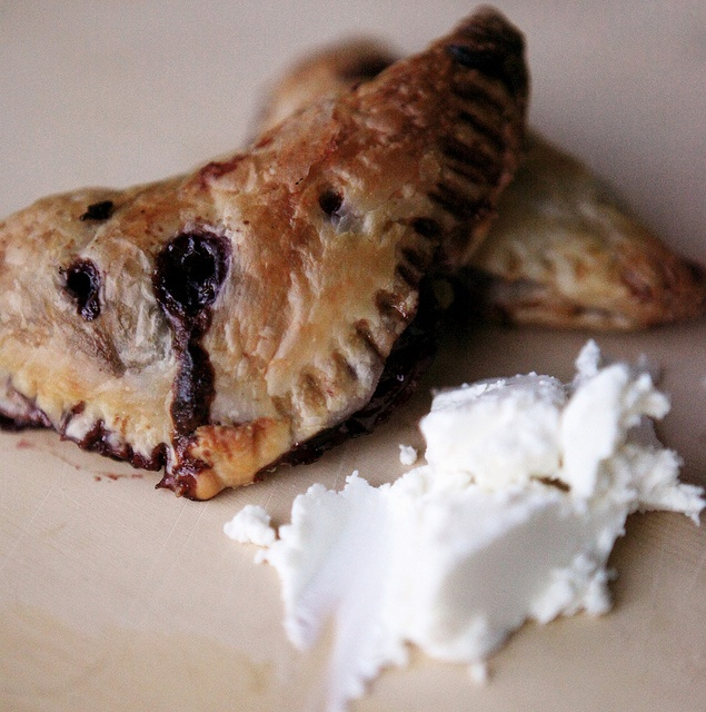 Sour Cherry Turnovers with Goat Cheese! | The Sweet Finish | Pinterest