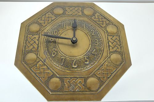 Arts Crafts Scottish School 39 Wag At The WA 39 Clock Keltic