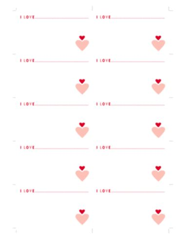 Daily valentine's notes for kids
