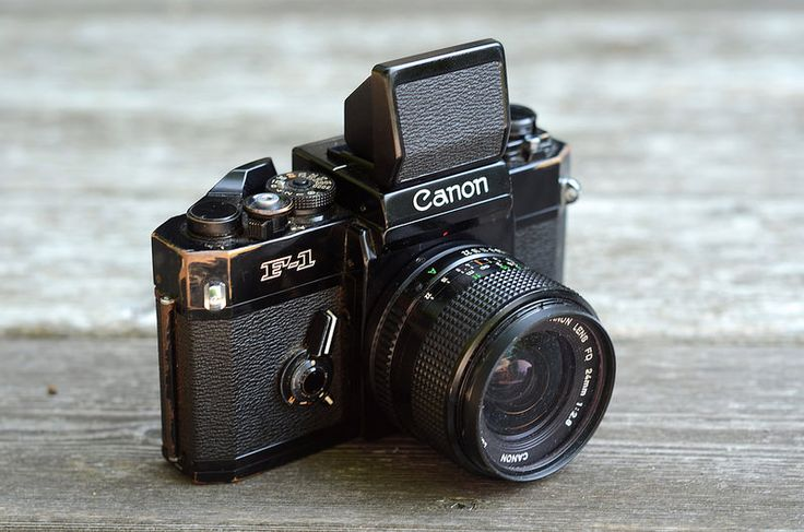 Canon F1 with Waist level viewfinder